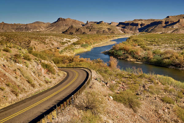 Chihuahua Photograph - Rio Grande And The River Road by Witold Skrypczak
