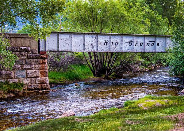 Wall Art - Photograph - Rio Grande Bridge by Dawn Key