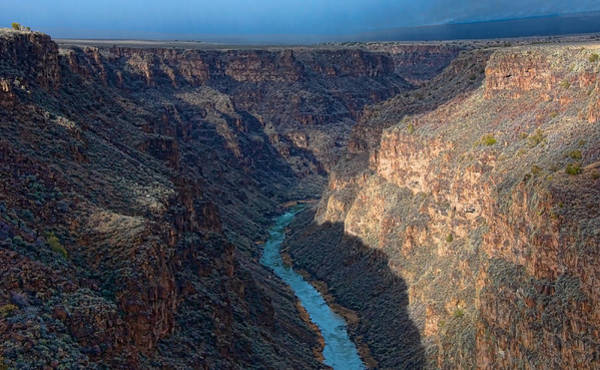 Photograph - Rio Grande Gorge North by Britt Runyon