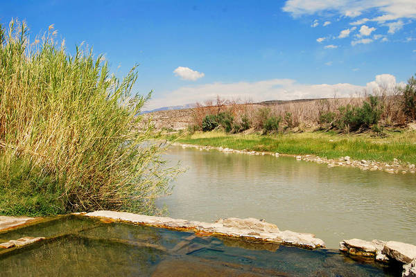 Photograph - Rio Grande Hot Springs by Judy Hall-Folde