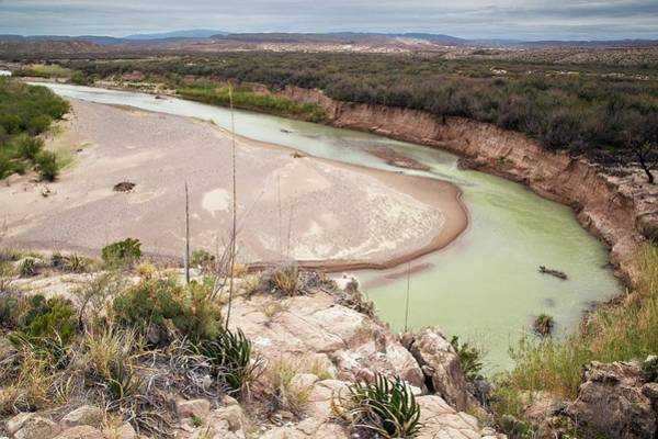 Rio Grande In Boquillas Canyon Art Print by Bob Gibbons/science Photo Library