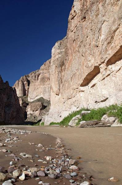 Rio Grande In Boquillas Canyon Art Print by Jim West