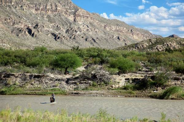Chihuahuan Desert Photograph - Rio Grande by Jim West