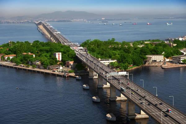 Long Island City Photograph - Rio Niteroi Bridge by Luoman