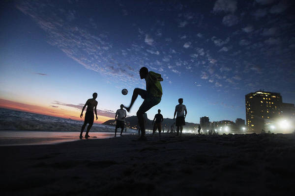 Photograph - Rio Revels During Carnival Celebration by Mario Tama