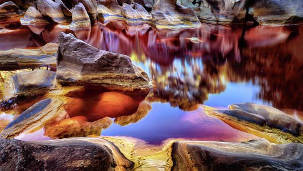 Rio Photograph - Rio Tinto ( Red River ) by Jes??s M. Garc??a