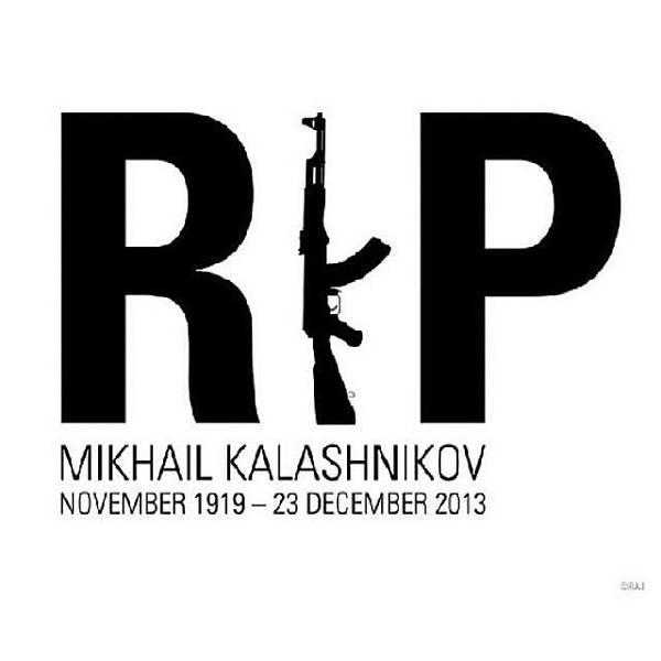 Kalashnikov Photograph - #rip #kalashnikov #hero #inventor by . .