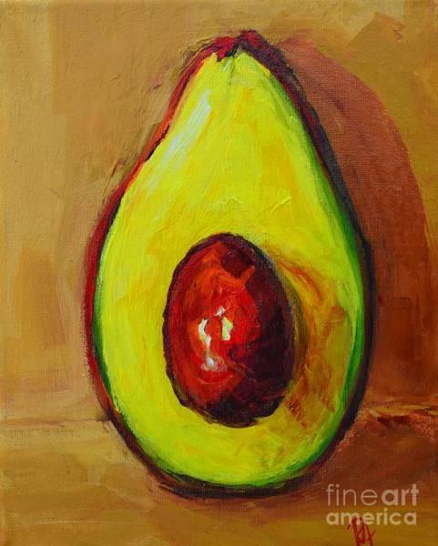 Painting - Ripe Avocado by Patricia Awapara