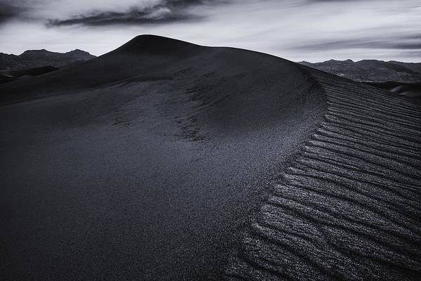 Photograph - Rippled Dune by Gene Garnace