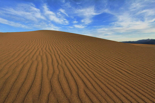 Great Sand Dunes National Park Photograph - Ripples On The Dunes by David Toussaint