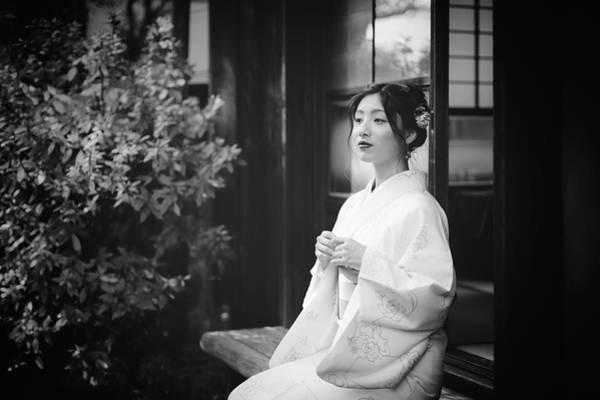 Traditional Photograph - Risa by Nobu Ishijima