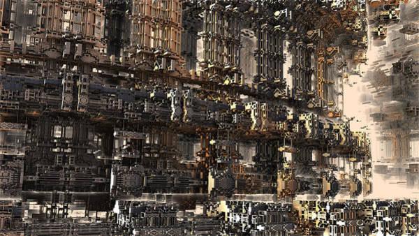 Rise Of The Machine Art Print
