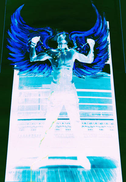 Mixed Media - Rising Angel by Giorgio Tuscani