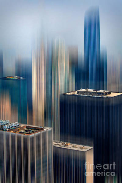 Roof Top Photograph - Rising Metropolis by Az Jackson