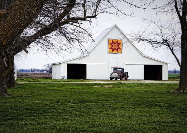 Photograph - Rising Star Quilt Barn by Cricket Hackmann