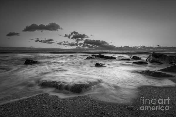Michael Photograph - Risint Tide Bw by Michael Ver Sprill