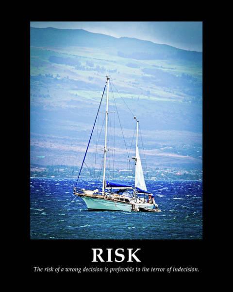 Coastal Digital Art - Risk by Bruce Nawrocke