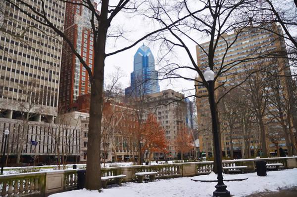 Rittenhouse Square Wall Art - Photograph - Rittenhouse Square In Wintertime by Bill Cannon