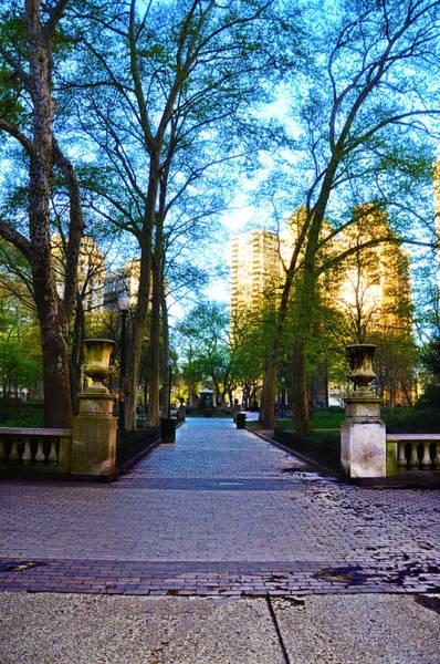 Rittenhouse Square Wall Art - Photograph - Rittenhouse Square Park by Bill Cannon