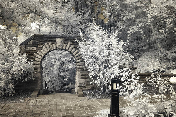Photograph - Ritter Park Arch by Mary Almond