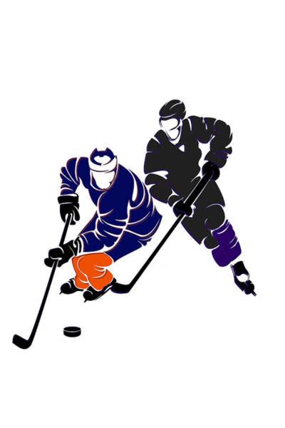 Wall Art - Photograph - Rivalries Oilers And Kings by Joe Hamilton