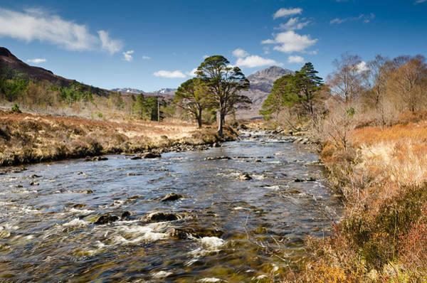 Beinn Eighe Photograph - River A Ghairbhe by David Head