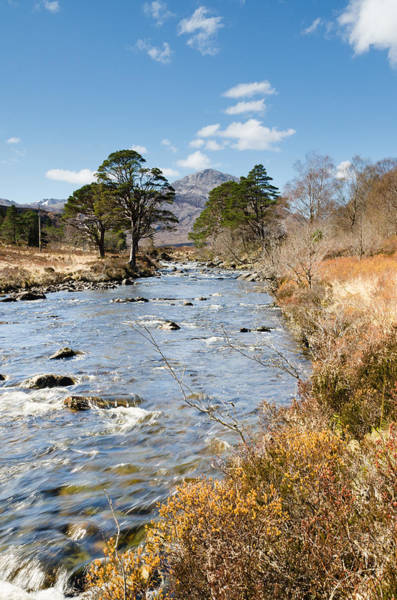 Beinn Eighe Photograph - River A Ghairbhe In Glen Torridon by David Head