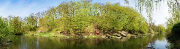 Wall Art - Photograph - River And Trees by Wladimir Bulgar/science Photo Library