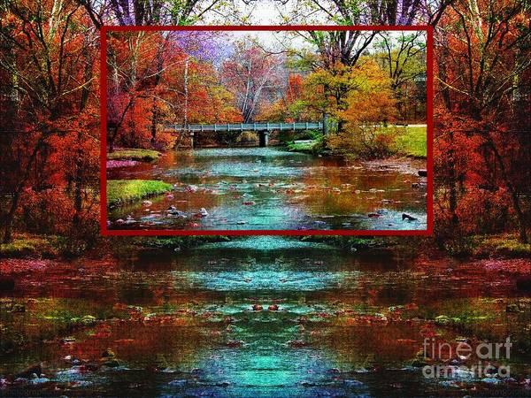 Photograph - River At Hinckley Reservation - Stacked by Gena Weiser