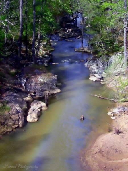 Coosa River Photograph - River At Noccalula Falls by Debra Forand