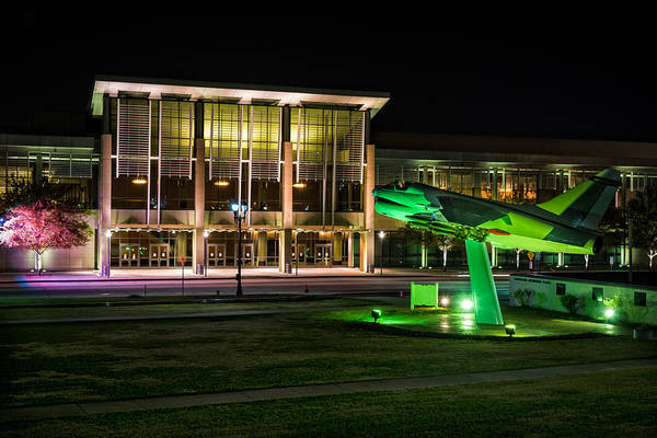 Photograph - River Center And Louisiana Memorial Plaza by Andy Crawford
