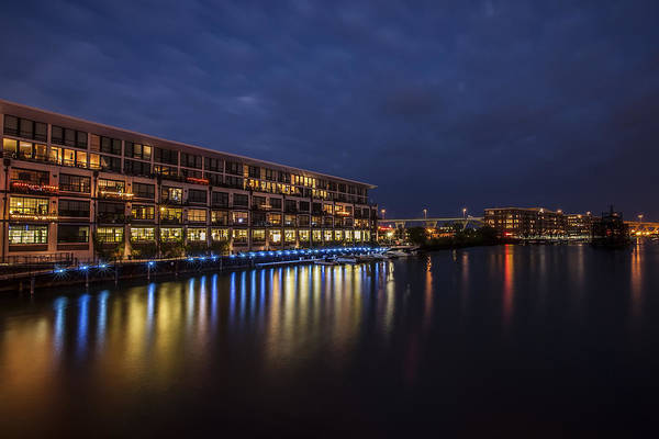 Mke Photograph - River Colors by CJ Schmit
