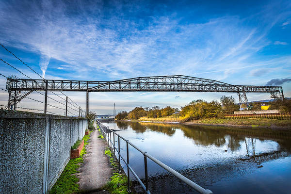 Medway Wall Art - Photograph - River Crossing. by Gary Gillette