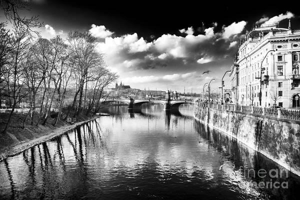 Wall Art - Photograph - River Crossing by John Rizzuto