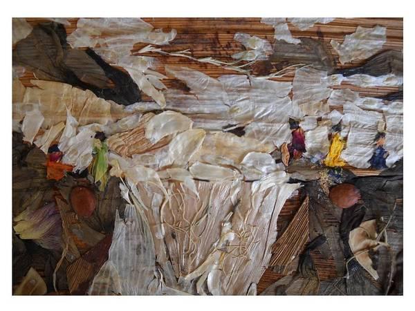Eco Friendly Mixed Media - River-fall by Basant Soni