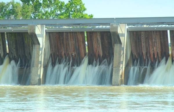 Norco Photograph - River Flooding by John Wilchek