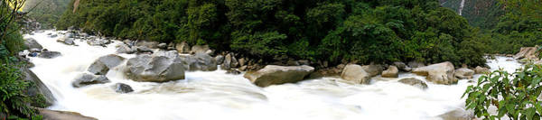 Cusco Photograph - River Flowing In A Forest, Aguas by Panoramic Images