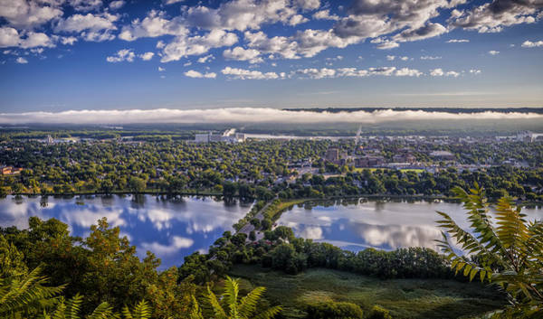 Photograph - River Fog At Winona by Al  Mueller