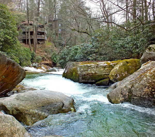 Photograph - River House In Spring by Duane McCullough