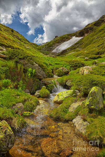 Wall Art - Photograph - River In Kaimaktsalan Mountains by Gabriela Insuratelu