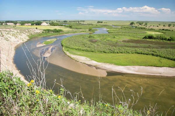 Nebraska Landscape Photograph - River In The Nebraska Sandhills by Jim West