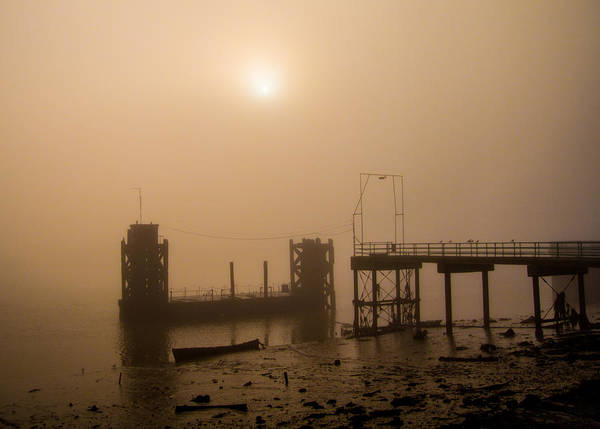 Medway Wall Art - Photograph - River Medway Fog by Dawn OConnor