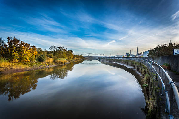 Medway Wall Art - Photograph - River Medway In England. by Gary Gillette