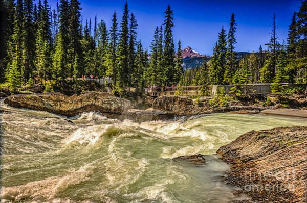 Canada Wall Art - Photograph - View Of The Natural Bridge by Viktor Birkus