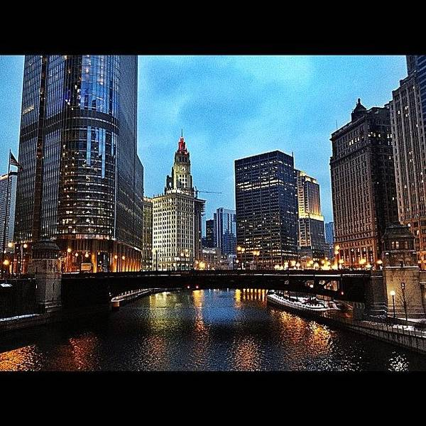 Wall Art - Photograph - River North by Mike Maher