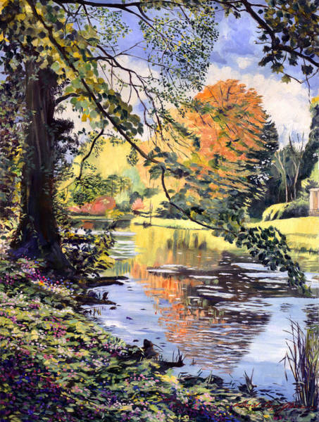 Great Britain Painting - River Of Dreams by David Lloyd Glover