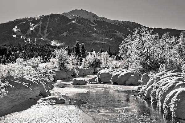 Photograph - River Of Golden Dreams Whistler  by Pierre Leclerc Photography