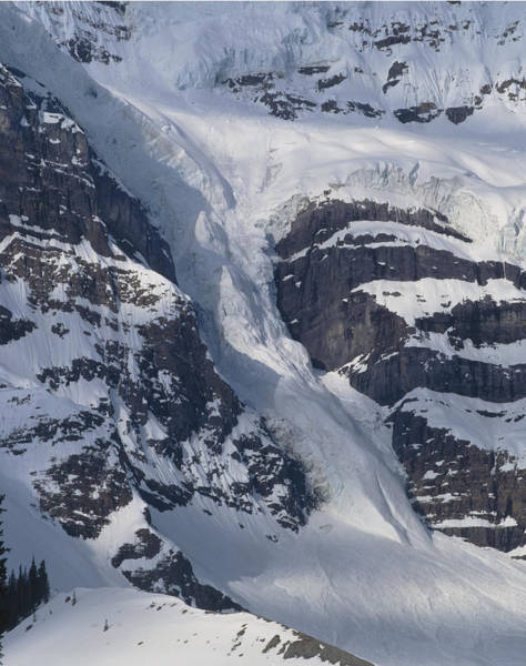 Photograph - 1m3646-river Of Ice On Snowbird Glacier by Ed  Cooper Photography