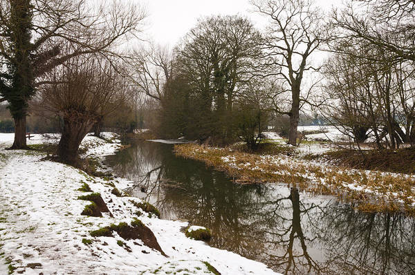 River Ouse In Snow Art Print