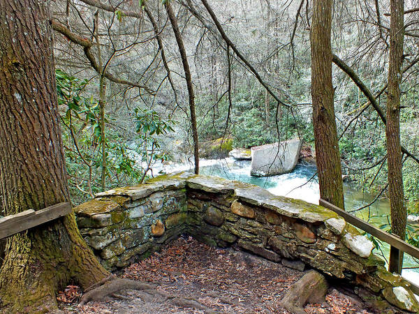 Photograph - River Overlook Site At Living Waters by Duane McCullough
